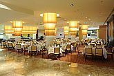 Restaurant in Hotel Aquaworld Resort Budapest - hotels in Budapest - wellness and conference hotel - online reservation