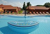 Openned pool of Aqua-Spa Cserkeszolo for Wellness weekend