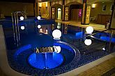 Wellness pool of Hotel Bellevue in Esztergom for a romantic weekend